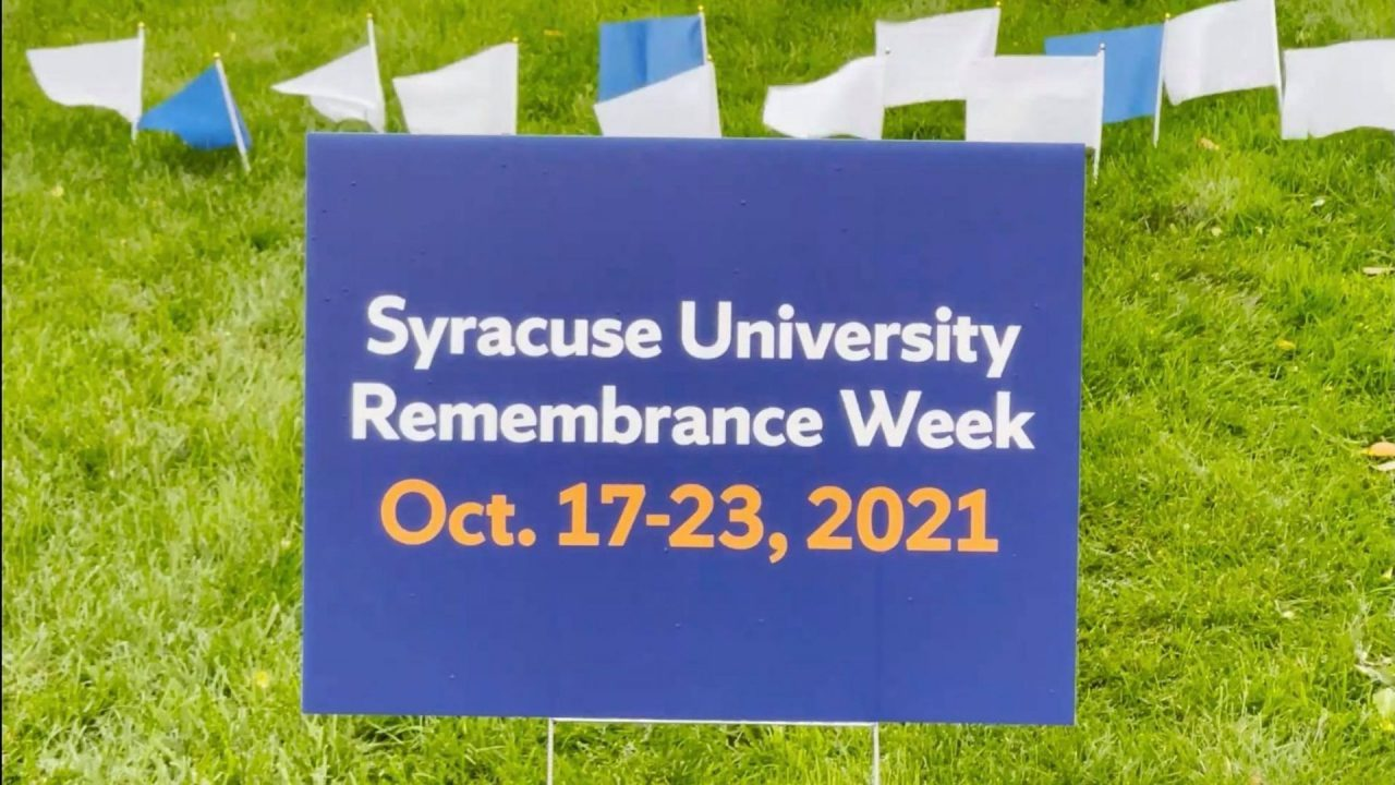 The third full week of October marks the 32nd annual Remembrance Week.