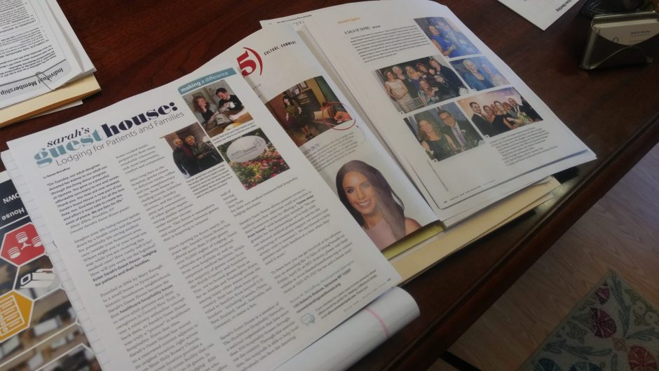 Articles featuring Sarah's Guest House
