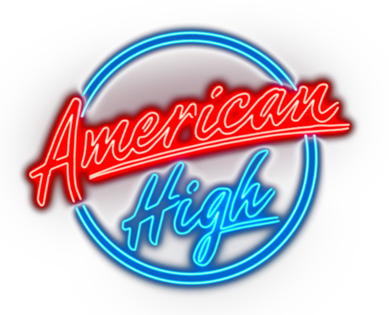 The logo of Liverpool production company, American High.
