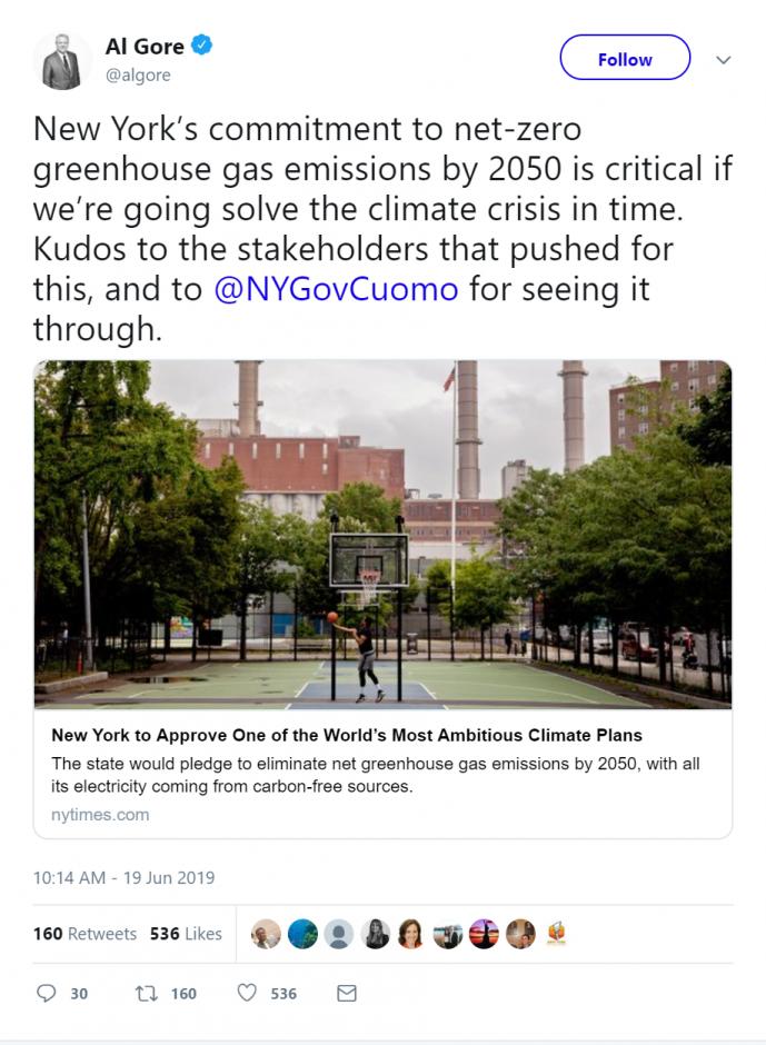 Al Gore Talks about Climate Bill