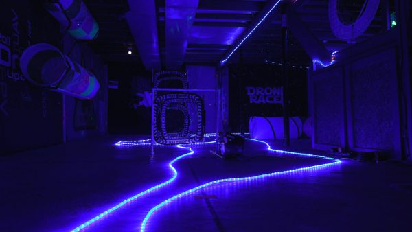 Drone racing course