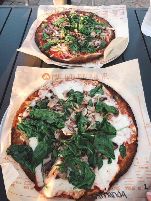 Blaze Pizza Now Opened and Serving Gluten-Free Crust!