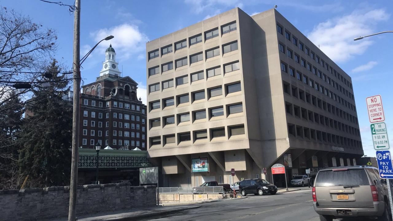 Crouse Hospital in Syracuse.
