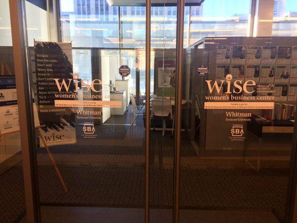Front Door of the WISE Women's Building Center