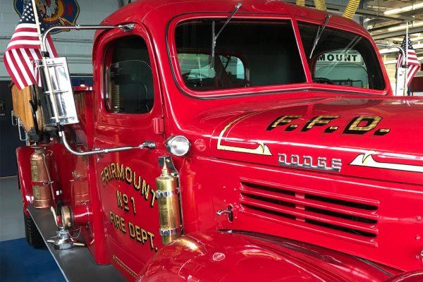 An old firetruck.