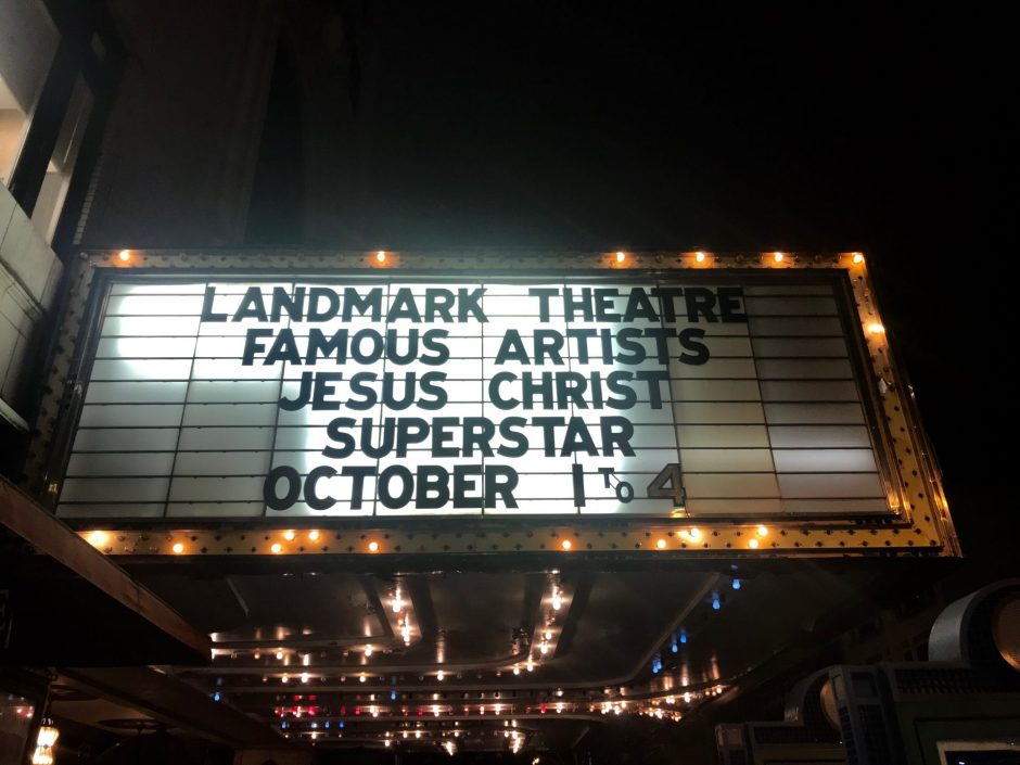 Syracuse's Landmark Theatre sign