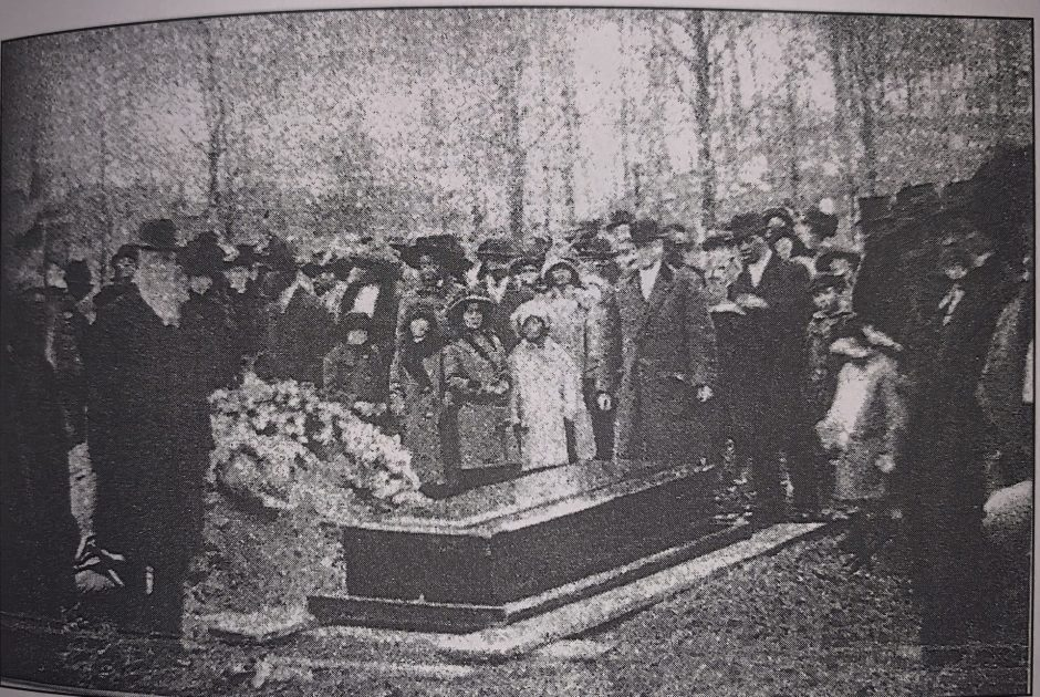 The funeral of Harriet Tubman