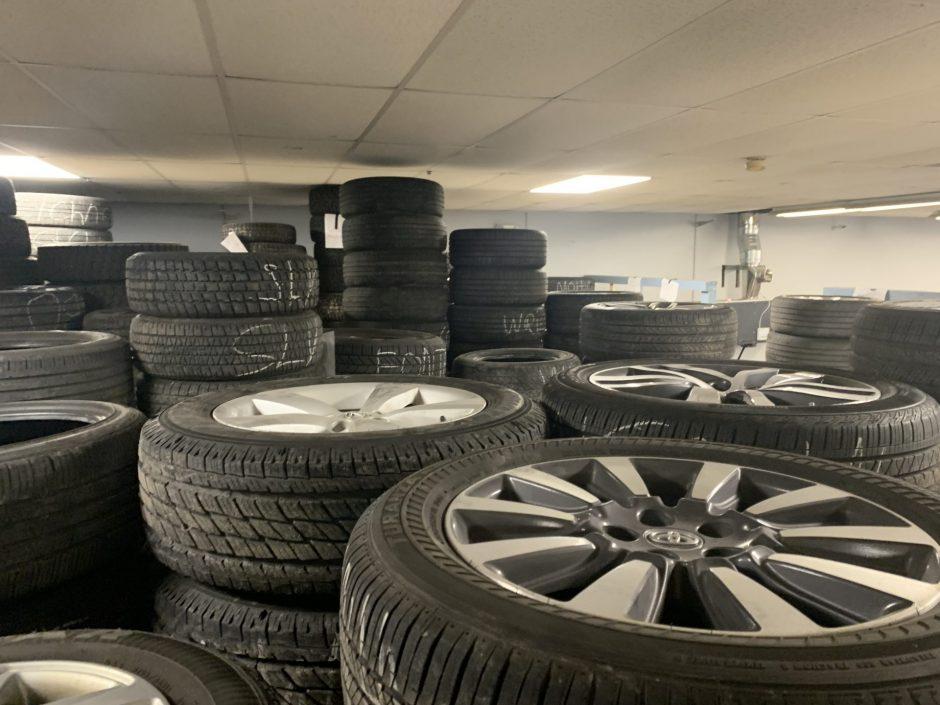 Big 4 Tire selection