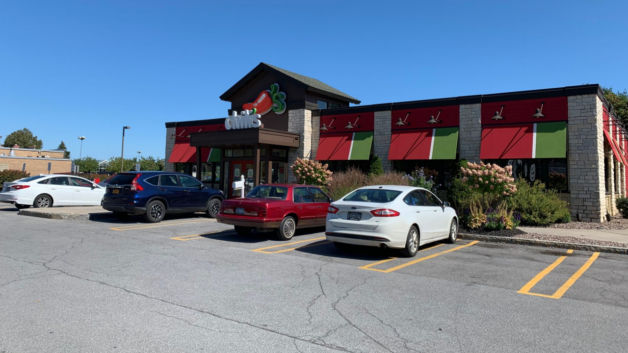 Chili's on Erie Boulevard.
