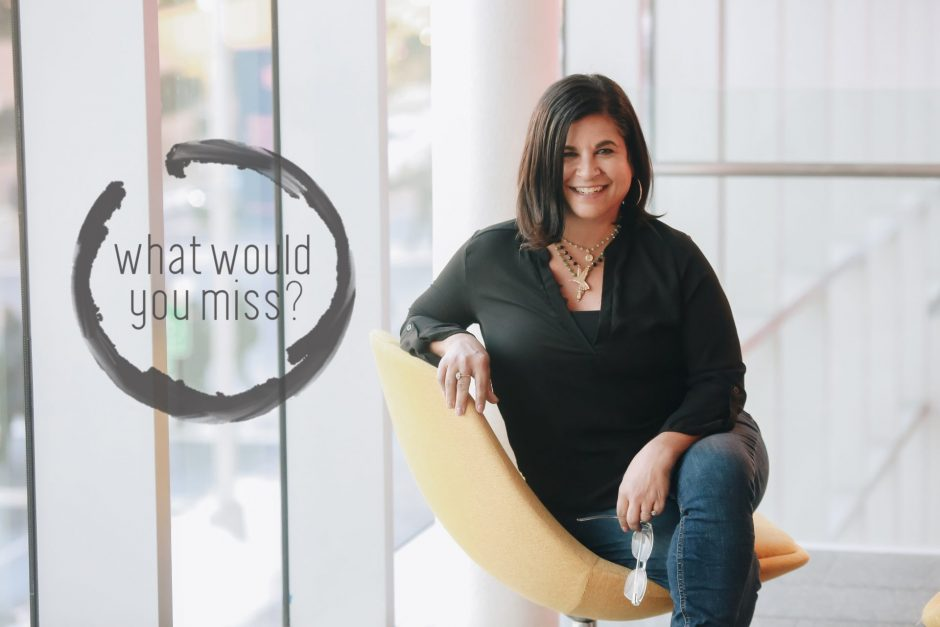 AnnMarie Giannini-Otis is the founder of the What Would You Miss Campaign.