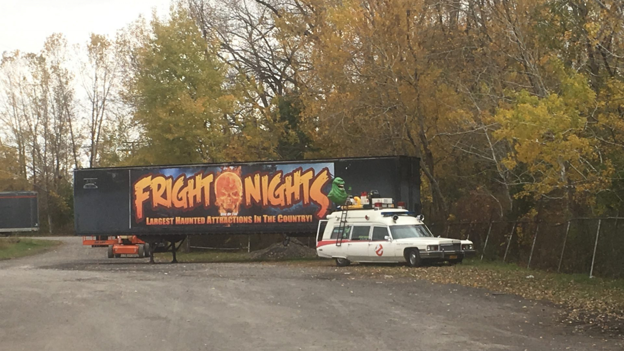 Fright Nights is gearing up for its final weekend after moving from the fairgrounds to LePage Places
