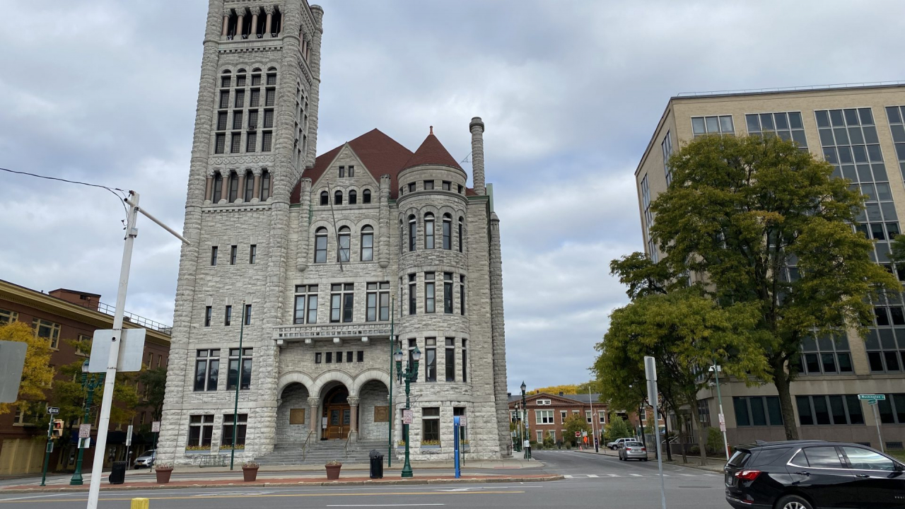The Syracuse City Hall, where the Common Council meets.
