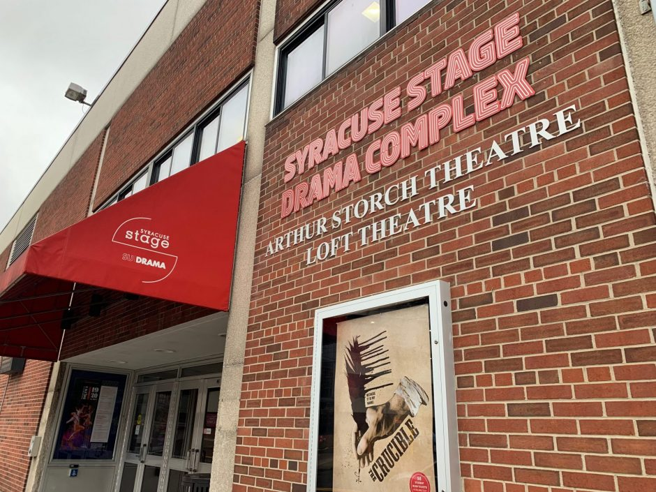 Exterior of Syracuse Stage.