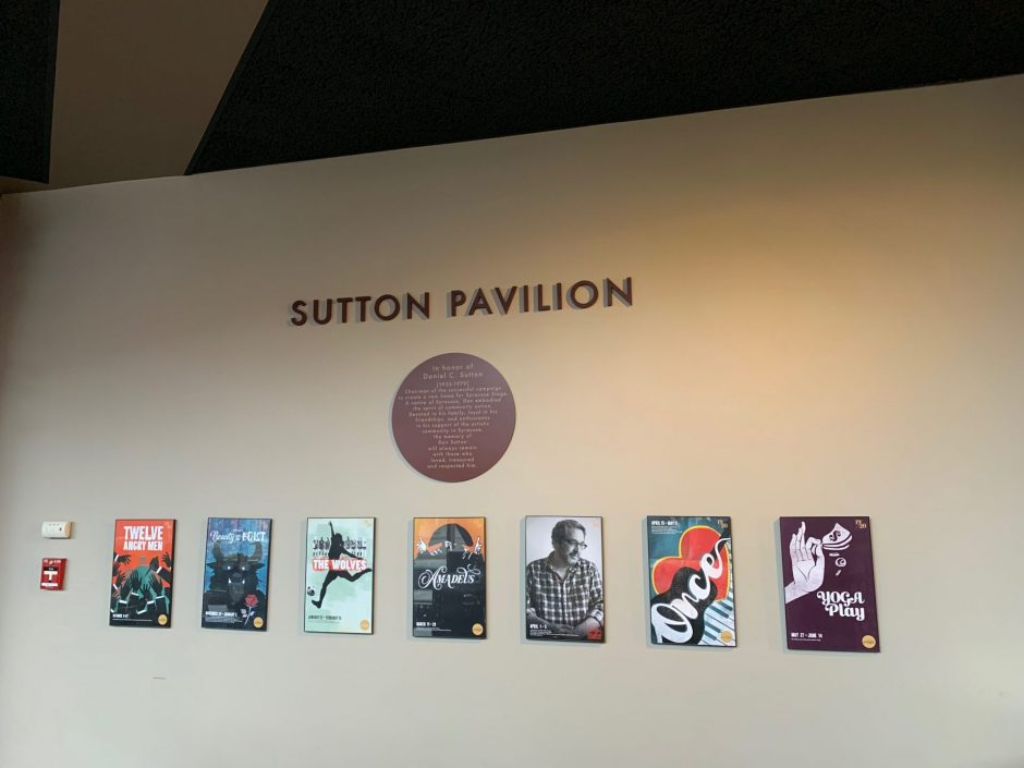 Image of the Sutton Pavilion at Syracuse Stage.