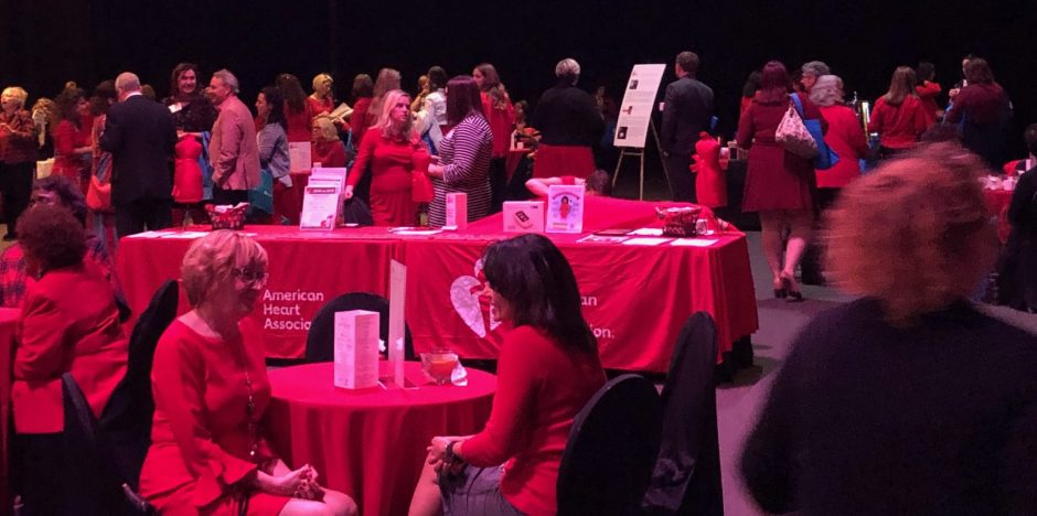Hundreds gathered at the Oncenter Convention Center to learn about heart disease.