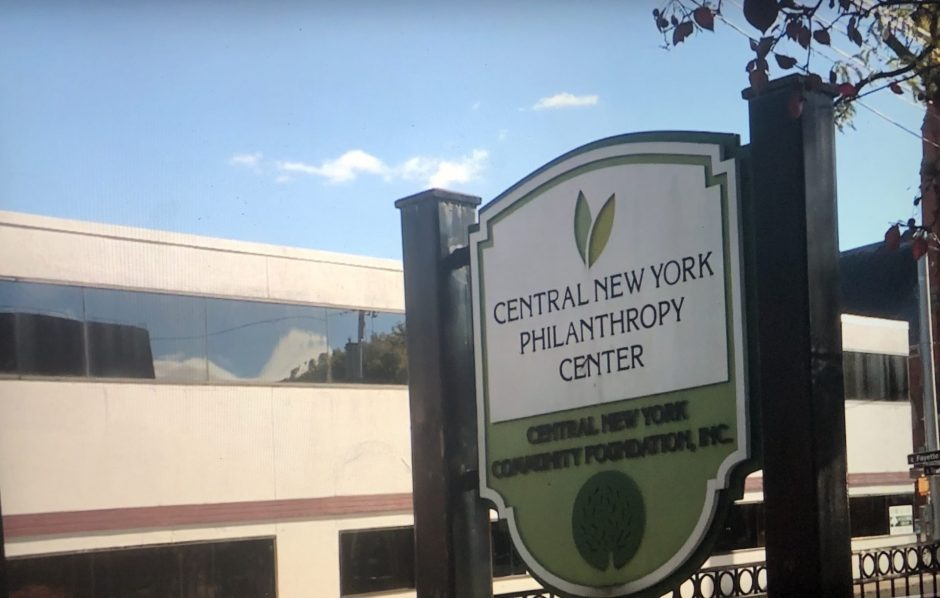 The sign outside of the CNCF's building.