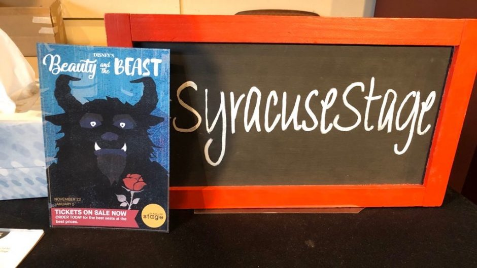 The Syracuse Stage is unique as is combines the work of professionals with the work of Syracuse students to put on certain productions.