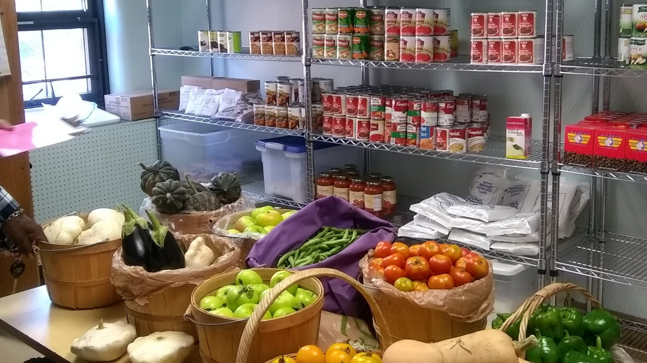 The Plymouth Church Food Pantry serves roughly 360 households a year with 220 unique households.