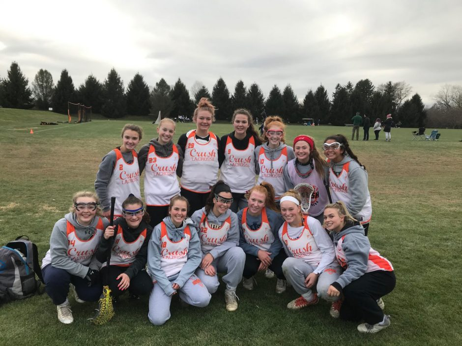 Team photo of the Orange Crush Class of 2022 team