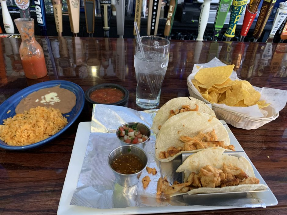 Margaritas Mexican Cantina restaurant's Chicken Grill Tacos