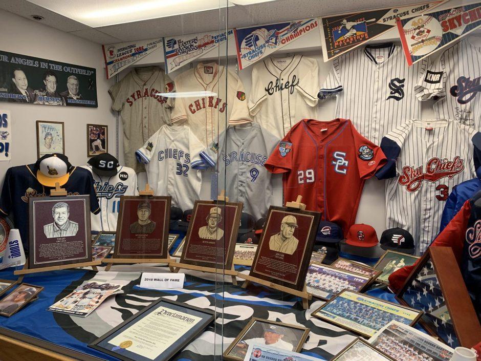 Syracuse Baseball Memorabilia