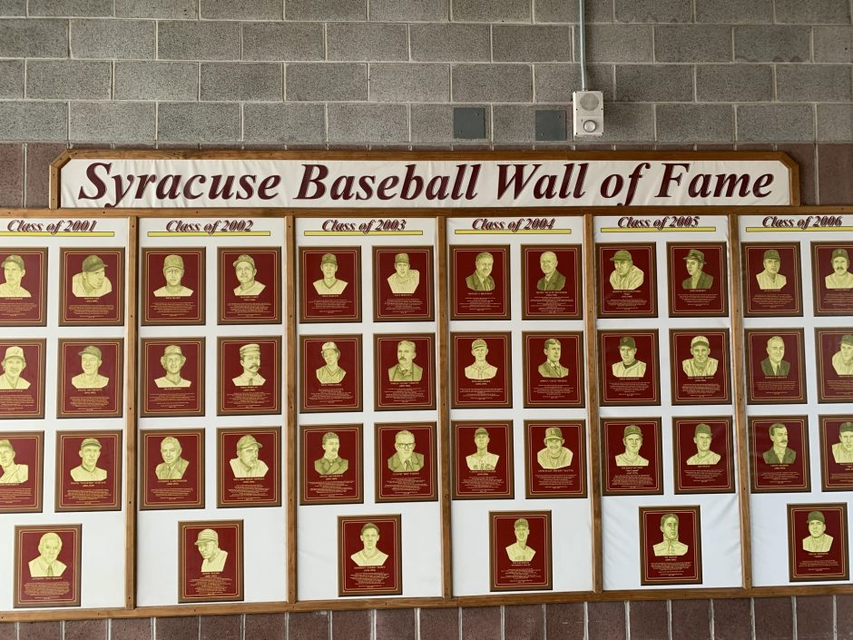 Syracuse Mets Wall of Fame