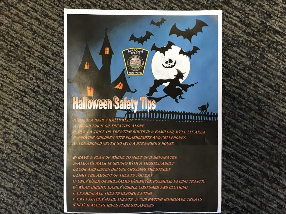 SPD Halloween Flyer