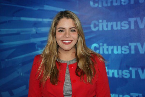 Broadcast and Digital Journalism Senior Doménica Orellana