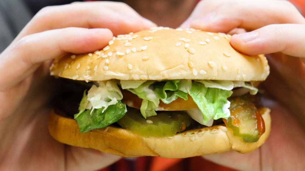 The Impossible Whopper, a plant based burger served at Burger Kings nationwide.