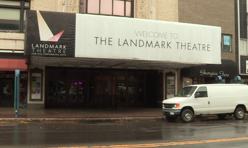 The Landmark Theatre marquee