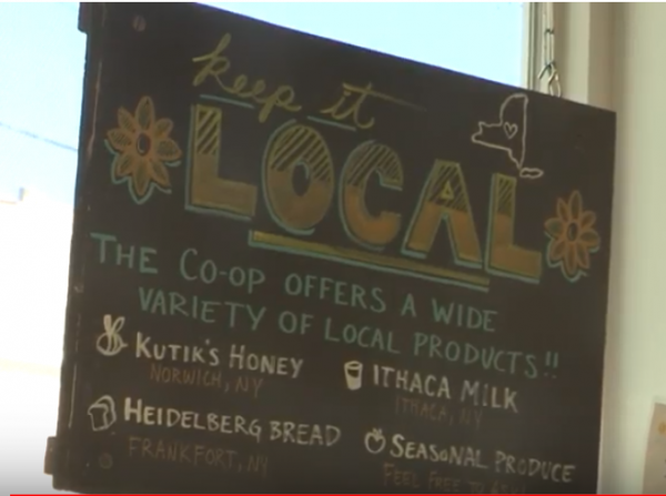 The variety of local products is a distinct caracteristic of the Syracuse Cooperative Market.