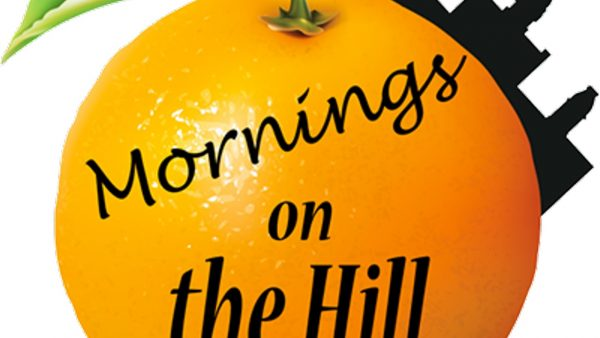 Orange Mornings on the Hill logo