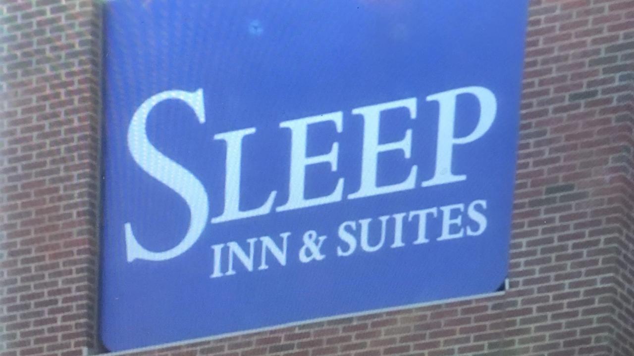 Sleep Inn and Suites sign