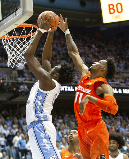 Syracuse vs. North Carolina