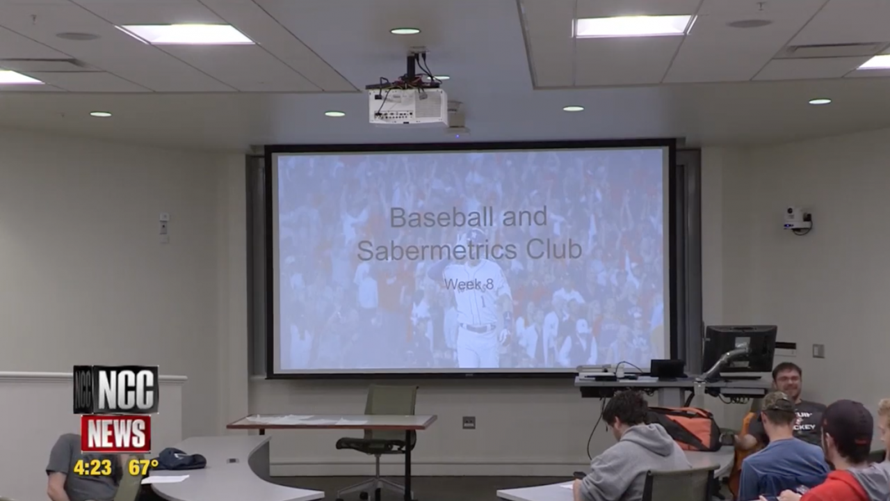 Kyle Liotta is the President of the Baseball Statistics and Sabermetrics Club at Syracuse University