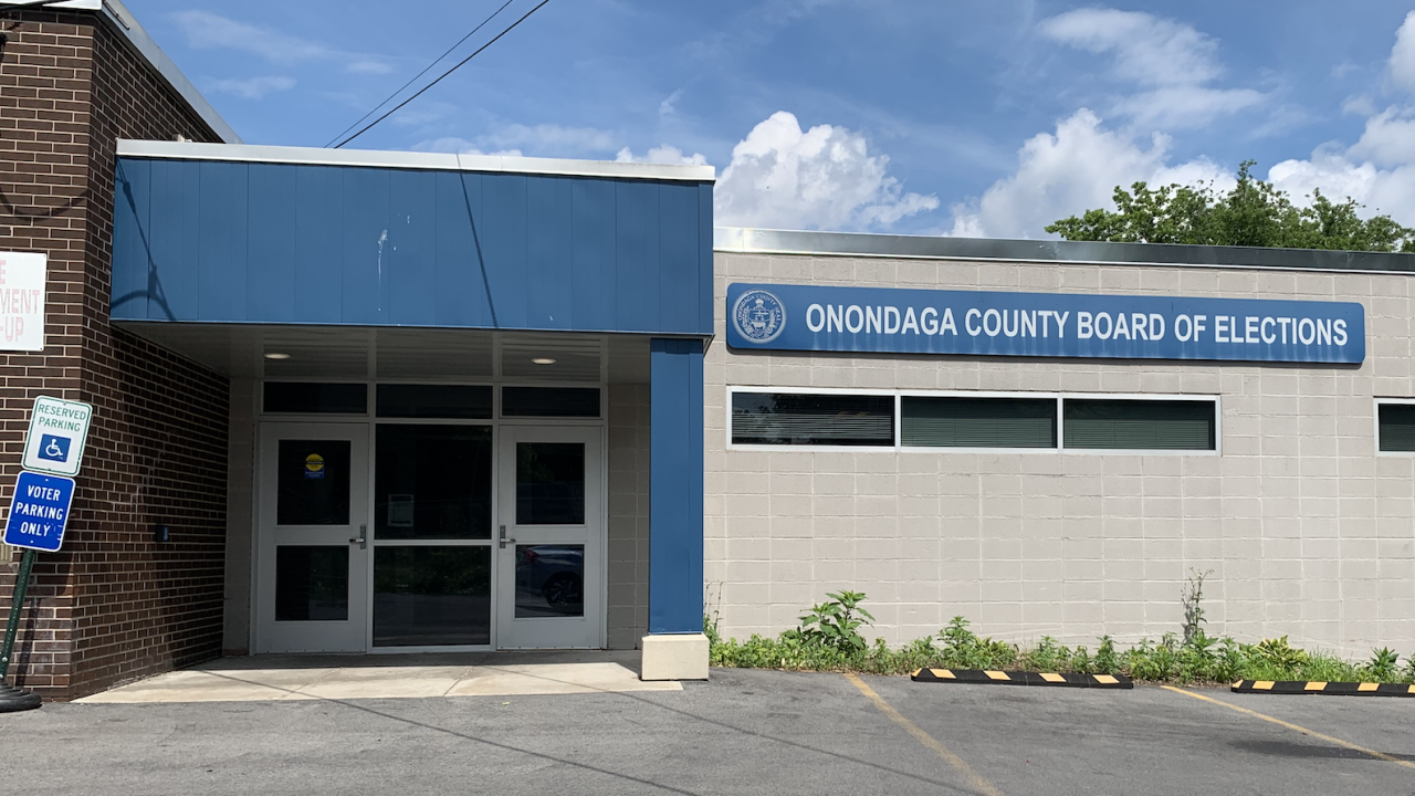 Onondaga Count Board of Elections building