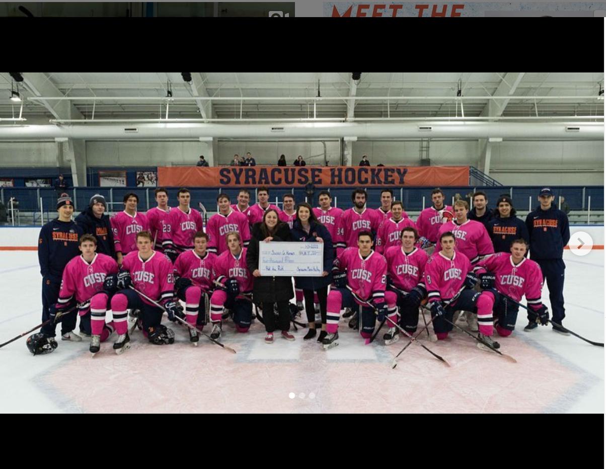 SU Men's Ice Hockey team