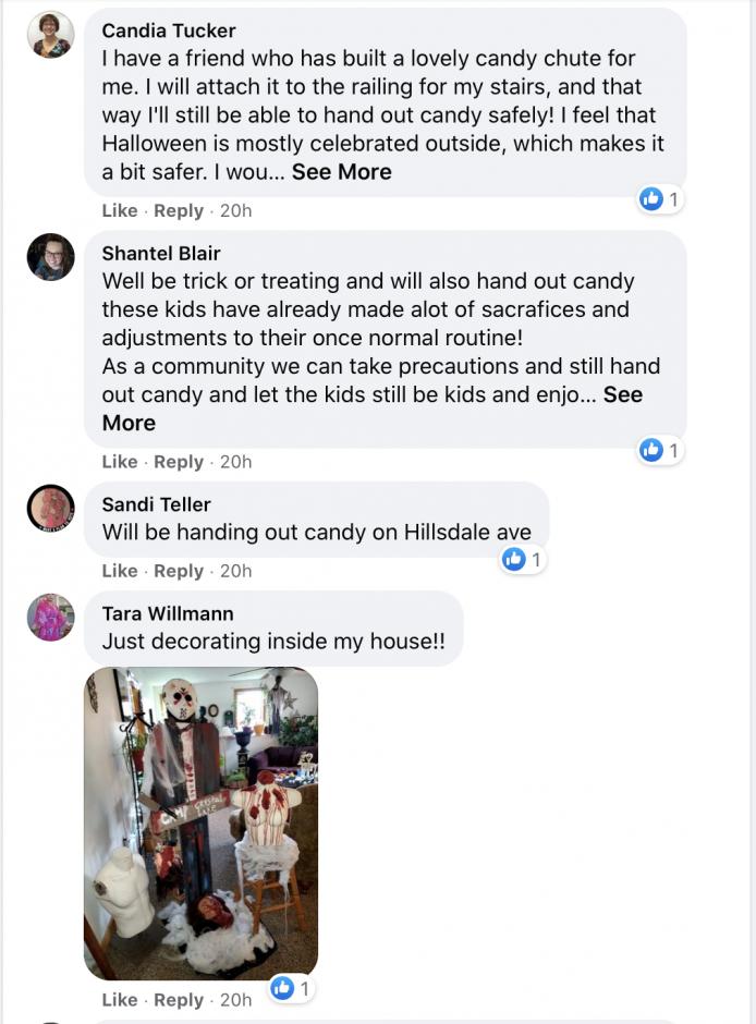 Facebook Screenshot of Syracuse Neighborhood Group