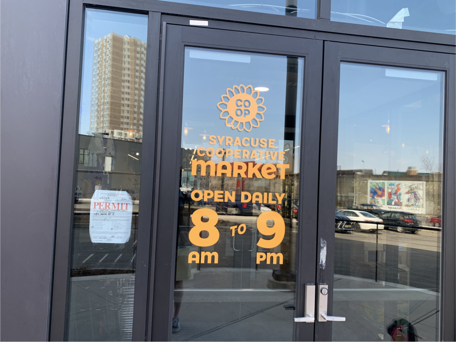 The Syracuse Cooperative Market opened last month in