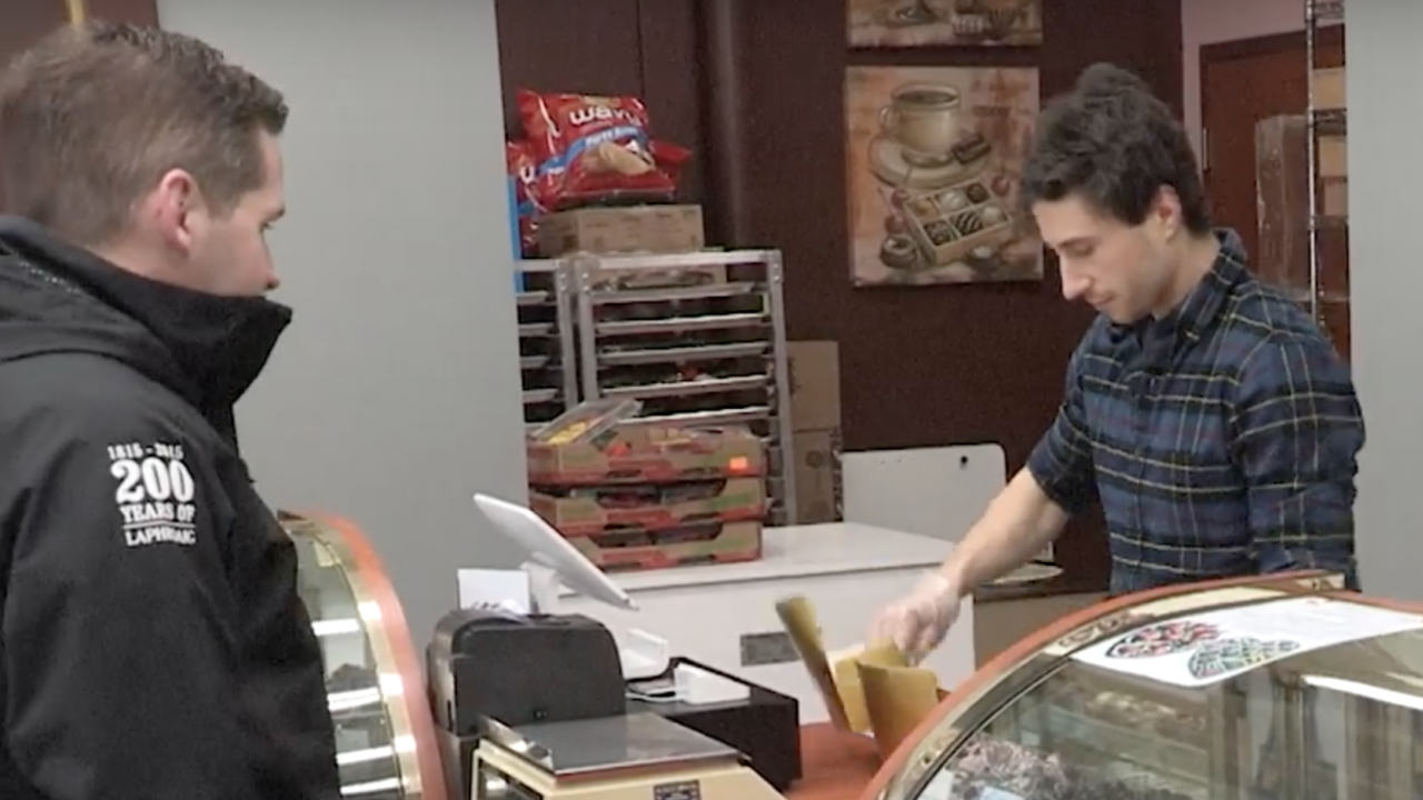 Adam Mazzoni is running Sweet On Chocolate for the first time during a Valentine's Day