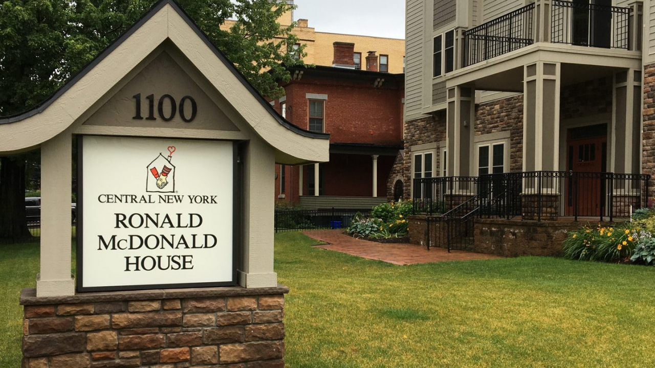 The Ronald McDonald House of Central New York.