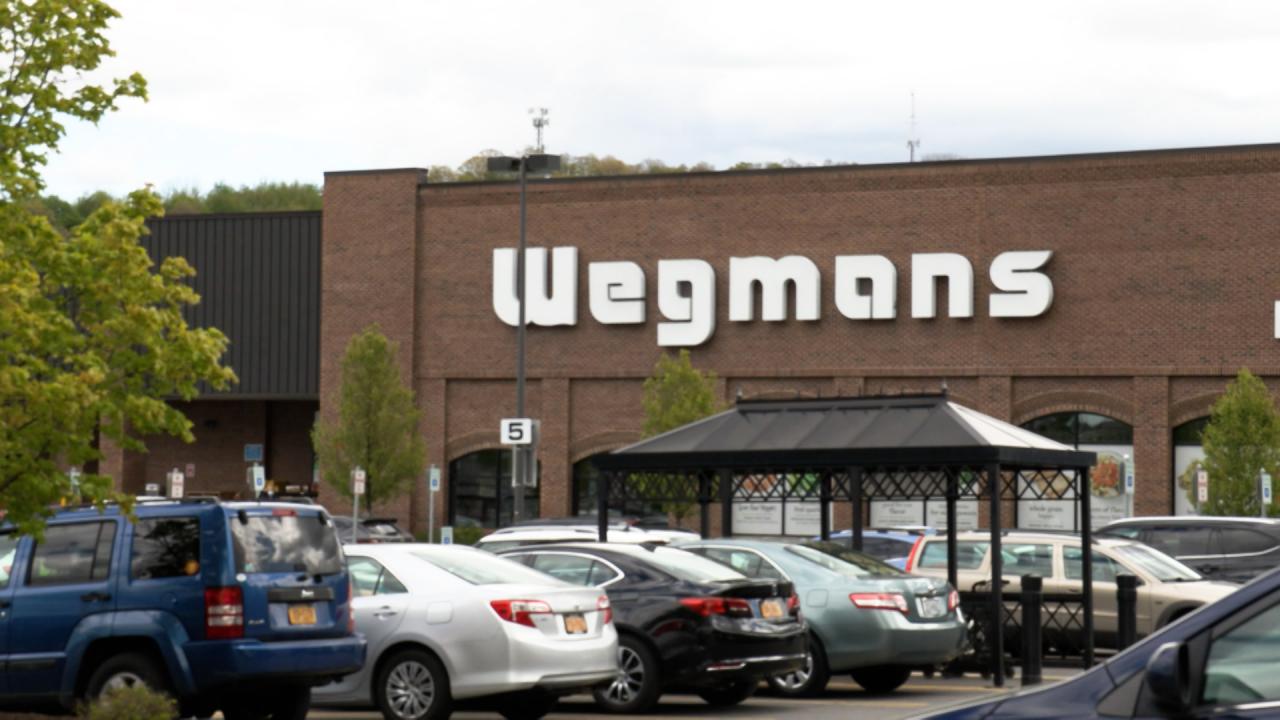 Storefront of a local Wegmans.