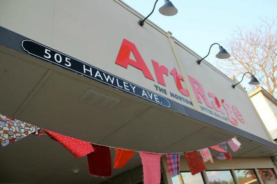 Outside of ArtRage Gallery