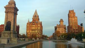 Picture of downtown Syracuse,NY