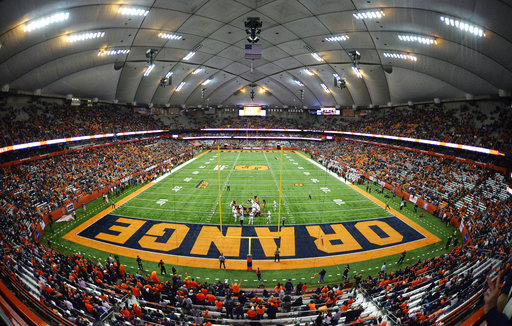 Inside the Carrier Dome, Syracuse vs Louisville