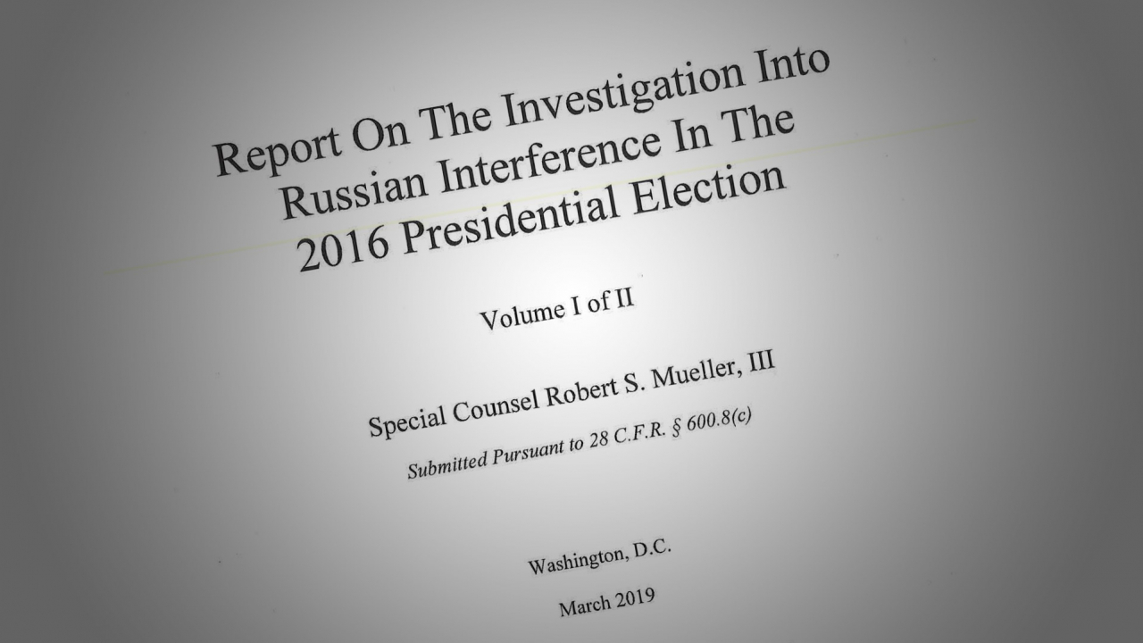 Mueller Report cover image