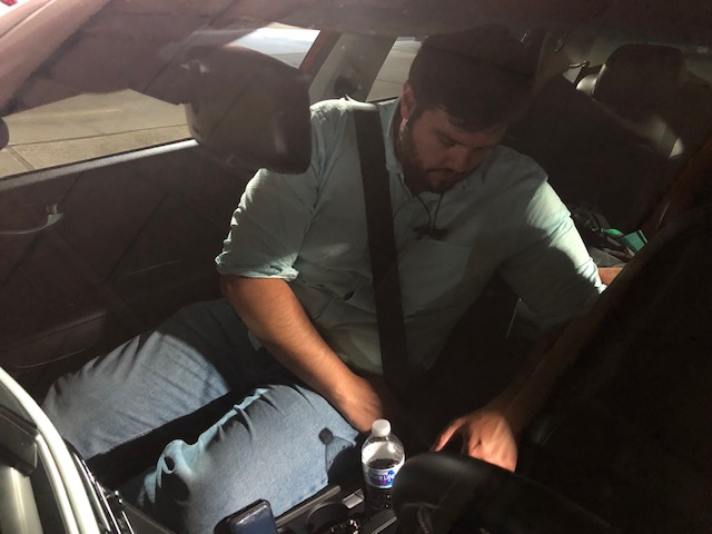 Juan Guarin-Camargo is buckling up for his ride back home.