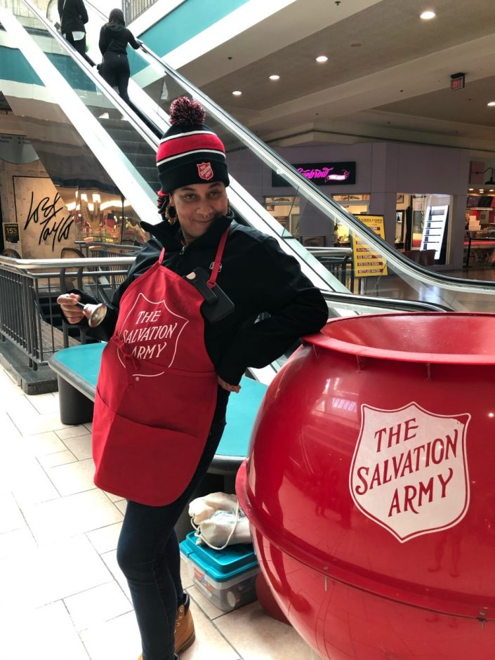 Red kettle in destiny USA